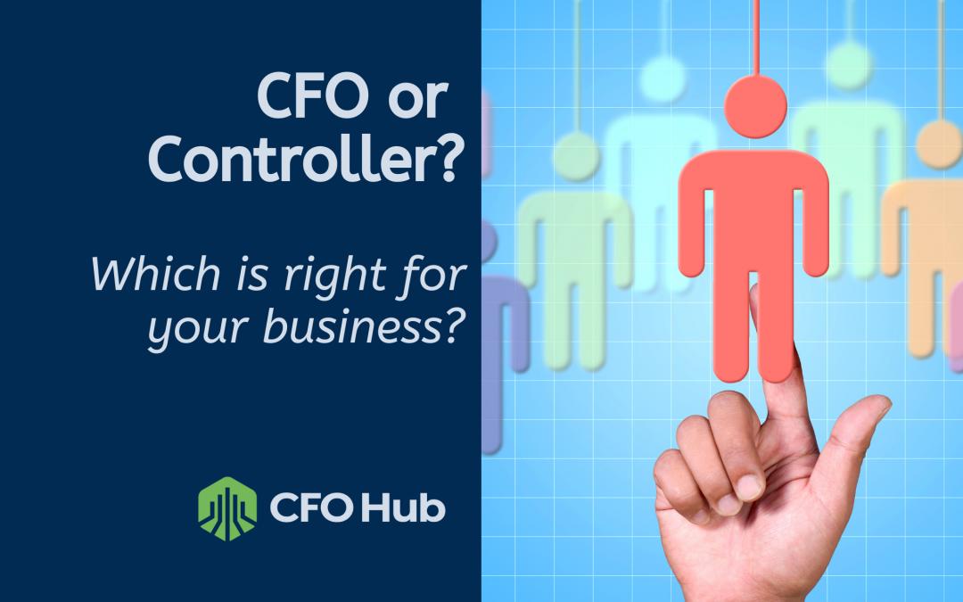CFO vs Controller?
