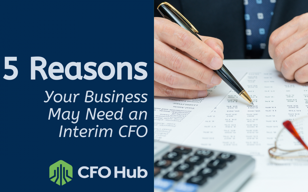 5 Reasons Your Business May Need an Interim CFO